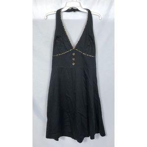 Rock Steady Black Halter Dress Size 2X